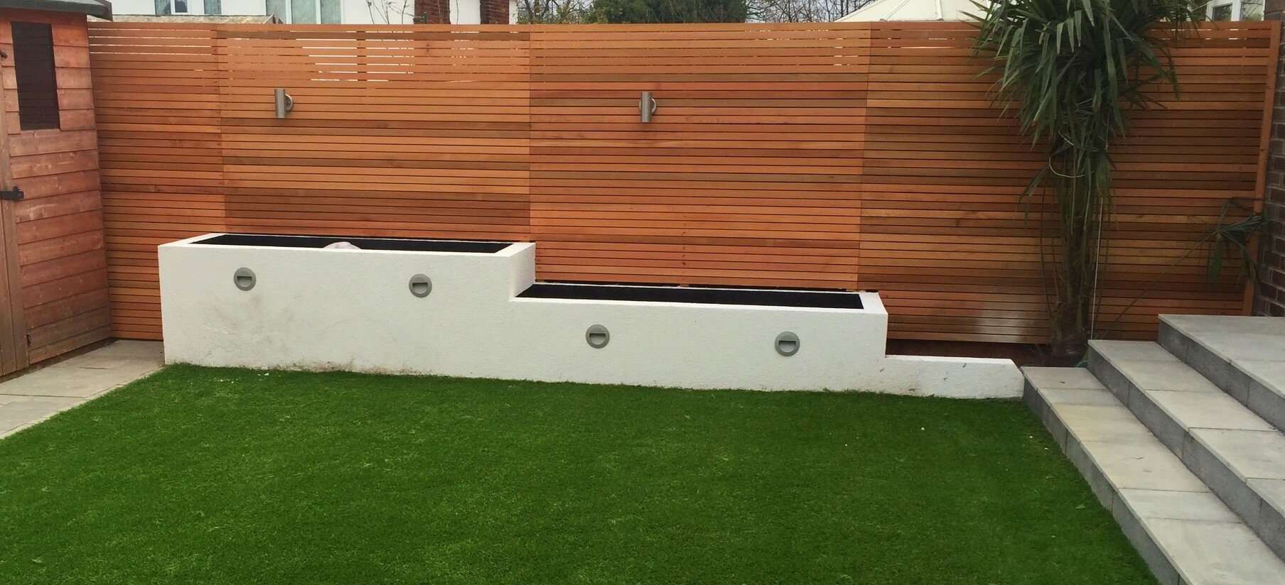 Contemporary Fencing Liverpool Abel Landscaping