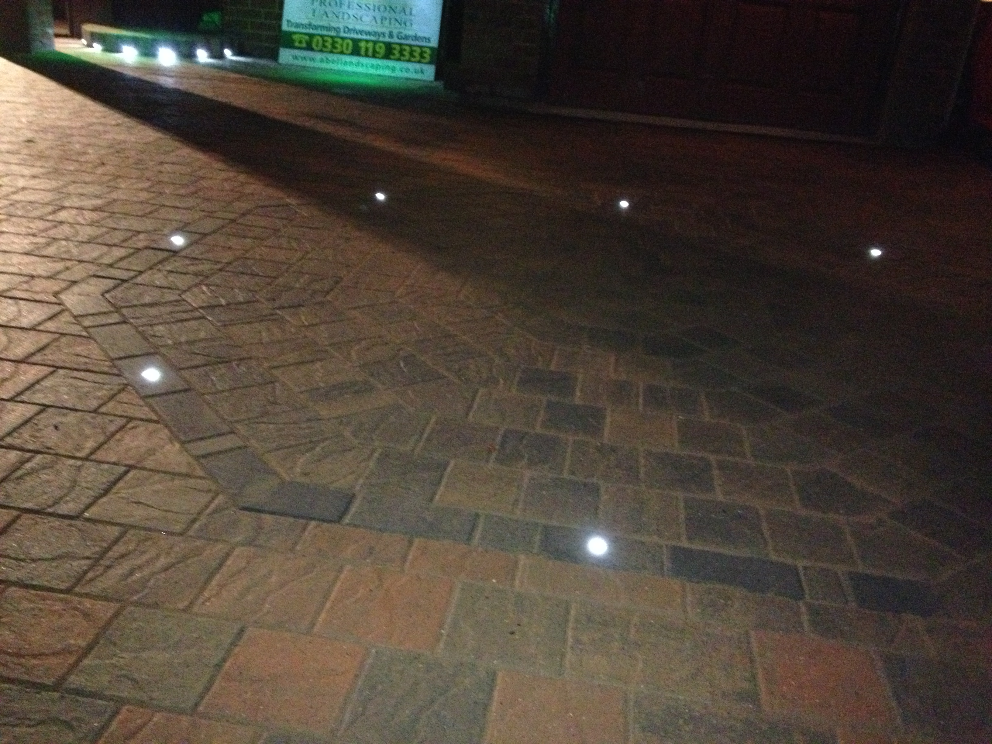 Marshalls Block Paving Driveway Amp Led Lighting Knowsley Abel Landscaping
